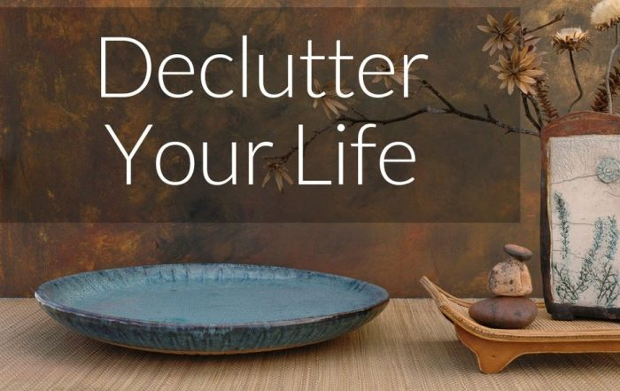 Cleaning Out the Clutter